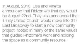 Rhizome's Last Day